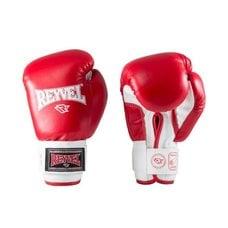 Перчатки боксерские Reyvel RV-101 6 унций к/з красные