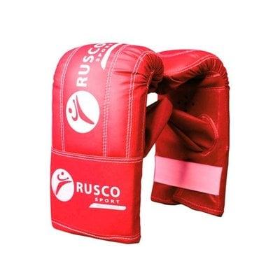 Покупка  Перчатки снарядные Rusco, кожзам, красно-сине-черный р.S   в магазине IntexRelax с доставкой или самовывозом