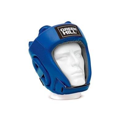 Покупка  Шлем открытый Green Hill Training HGT-9411, синий р.L   в магазине IntexRelax с доставкой или самовывозом