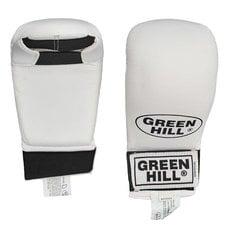 акладки для карате Green Hill Cobra KMC-6083-L-WH р.L белые