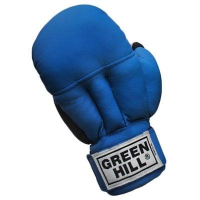 Покупка  Перчатки для рукопашного боя Green Hill PG-2047 синий р.S   в магазине IntexRelax с доставкой или самовывозом