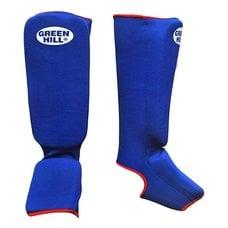 Защита голень-стопа Green Hill SIC-6131 синяя р.XS