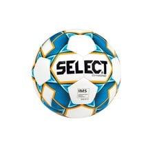 Мяч футбольный Select Diamond р.5 белый/синий/оранжевый