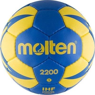 Покупка  Мяч гандбольный MOLTEN 2200 арт.H1X2200-BY р.3   в магазине IntexRelax с доставкой или самовывозом