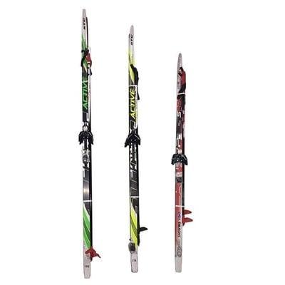 Покупка  Лыжный комплект (лыжи+палки+крепл.75 мм) STEP длина 200   в магазине IntexRelax с доставкой или самовывозом