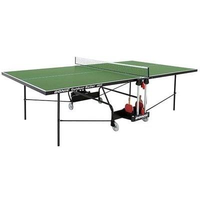 Покупка  Всепогодный Теннисный стол Donic Outdoor Roller 400 зеленый   в магазине IntexRelax с доставкой или самовывозом
