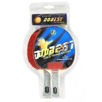 Покупка  Набор для настольного тенниса DOBEST BR20 1 звезда (2 ракетки + 3 мяча)   в магазине IntexRelax с доставкой или самовывозом