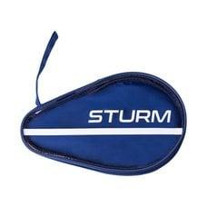 Чехол для ракетки для настольного тенниса CS-02, для одной ракетки, синий STURM
