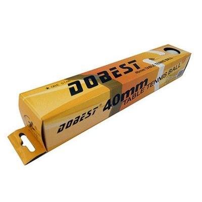 Покупка  Мяч для настольного тенниса DOBEST BA-02 (1 звезда) 6шт/уп   в магазине IntexRelax с доставкой или самовывозом