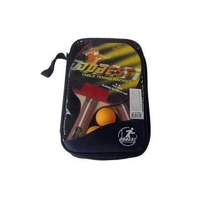Покупка  Набор для настольного тенниса DOBEST BB01 2 звезды (2 ракетки + 3 мяча)   в магазине IntexRelax с доставкой или самовывозом
