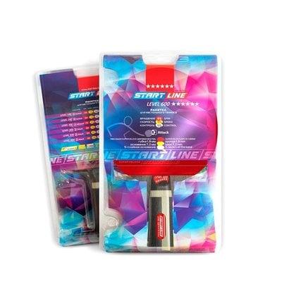 Покупка  Ракетка для настольного тенниса Start Line Level 600 арт.12703   в магазине IntexRelax с доставкой или самовывозом