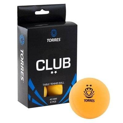 Покупка  Мяч для настольного тенниса Torres Club 2* арт.TT0013   в магазине IntexRelax с доставкой или самовывозом