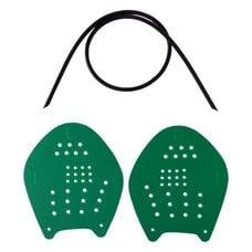 Лопатки для плавания LongSail Target р.M (зеленый)