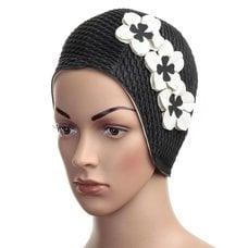 Шапочка для плавания женская FASHY Babble Cap with Flowers арт.3119-20