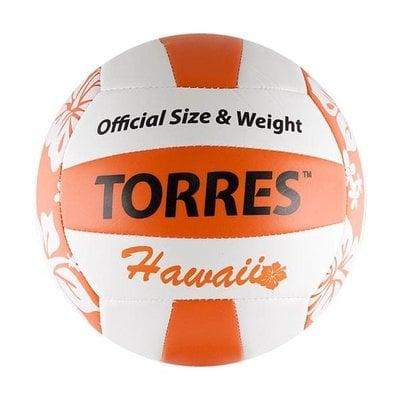 Покупка  Мяч для пляжного волейбола Torres Hawaii арт.V30075B р.5   в магазине IntexRelax с доставкой или самовывозом