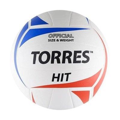 Покупка  Мяч волейбольный Torres Hit арт.V30055 р.5   в магазине IntexRelax с доставкой или самовывозом