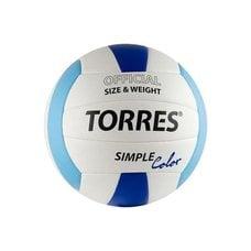 """Мяч волейбольный """"TORRES"""" Simple Color V30115, р.5"""