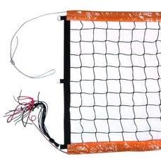Сетка для пляжного волейбола FS№11 8,5х1м черная
