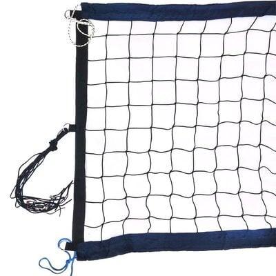 Покупка  Сетка для пляжного волейбола FS№12 8,5х1м черная   в магазине IntexRelax с доставкой или самовывозом