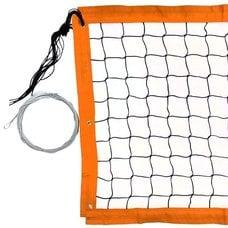 Сетка для пляжного волейбола FS№16 8,5х1м черная
