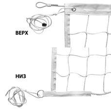 Сетка волейбольная FS№4 9,5х1 м