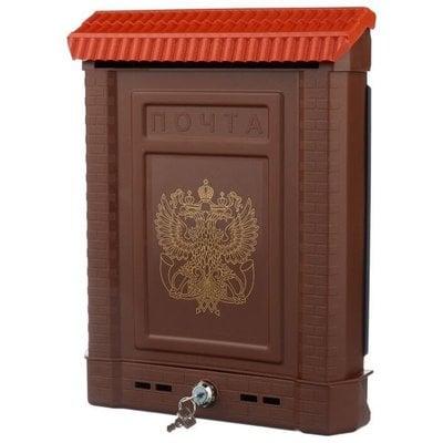 Покупка  Почтовый ящик Цикл Премиум 5920-00 390х280 мм, коричневый   в магазине IntexRelax с доставкой или самовывозом